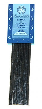 Fred Soll's Cedar and Juniper Berry Incense - 20 sticks - Product Image