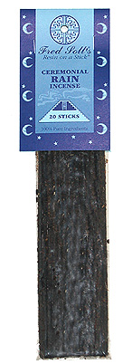 Fred Soll's Ceremonial Rain Incense - 20 sticks - Product Image
