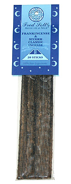 Fred Soll&#039;s Classic Frankincense and Myrrh Incense - 20 sticks - Product Image