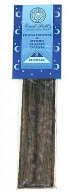 Fred Soll's Classic Frankincense and Myrrh Incense - 20 sticks - Product Image