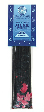 Fred Soll&#039;s Egyptian Musk Incense - 20 sticks - Product Image