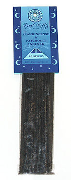 Fred Soll's Frankincense and Patchouli Incense - 20 sticks - Product Image