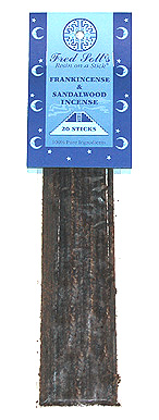 Fred Soll's Frankincense and Sandalwood Incense - 20 sticks - Product Image