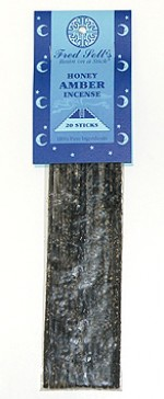 Fred Soll's Honey Amber Incense - 10 sticks - Product Image
