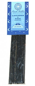Fred Soll's Lavender and Sage Incense - 20 sticks - Product Image