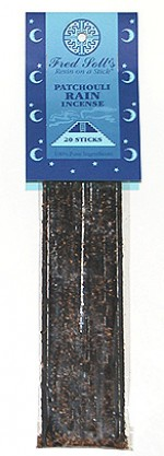 Fred Soll's Patchouli Rain Incense - 20 sticks - Product Image