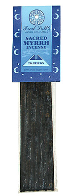Fred Soll&#039;s Sacred Myrrh Incense - 20 sticks - Product Image