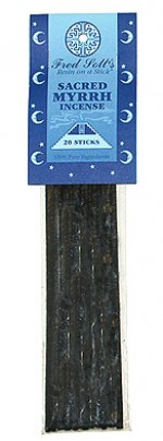 Fred Soll's Sacred Myrrh Incense - 20 sticks - Product Image