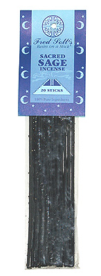 Fred Soll&#039;s Sacred Sage Incense - 20 sticks - Product Image