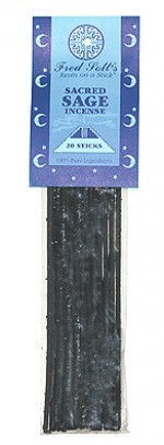 Fred Soll's Sacred Sage Incense - 20 sticks - Product Image
