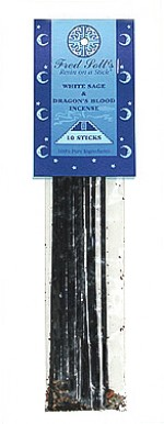 Fred Soll's White Sage and Dragon's Blood Incense - 10 sticks - Product Image