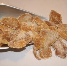 Ginger Root (crystallized) slice - per ounce - Product Image
