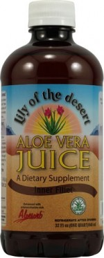 Lily of the Valley Aloe Vera Juice - Inner Fillet, 32 oz. - Product Image