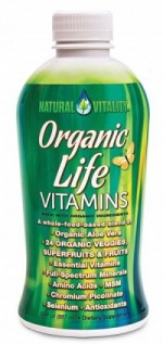 Liquid Organic Life Vitamins - 30 oz. - Product Image