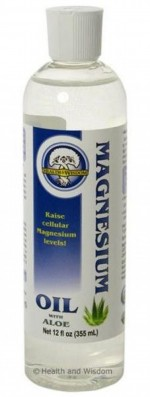 Magnesium Oil with Aloe Vera - 12 oz. - Product Image