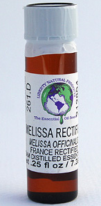 Melissa (Lemon Balm) (rectified) - .25 oz. - Product Image