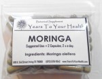 Moringa Leaf - 50 Capsules - Product Image