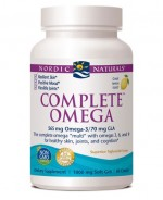 Nordic Naturals - Complete Omega - 1000mg - 60 Softgels - Product Image