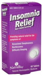 Natra-Bio Insomnia Relief - Product Image