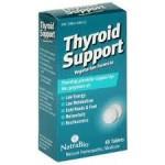 Natra-Bio Thyroid Support - Vegetarian Formula - Product Image