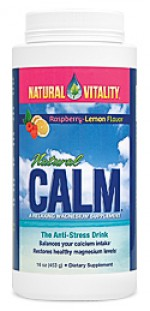 Natural Calm Raspberry Lemon - 16 oz. - Product Image