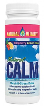 Natural Calm Raspberry-Lemon - 8 oz. - Product Image