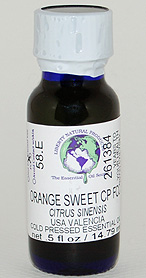 Orange, Sweet Valencia CP FCC - .5 oz. - Product Image