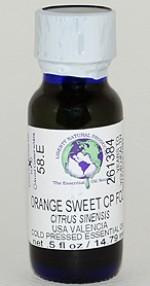 Orange, Sweet Valencia CP FCC - .5 oz. - Product Image