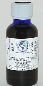 Orange, Sweet Valencia CP FCC - 1 oz. - Product Image