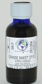 Orange, Sweet Valencia CP FCC - 1 oz. - Product Image