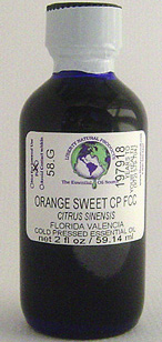 Orange, Sweet Valencia CP FCC - 2 oz. - Product Image