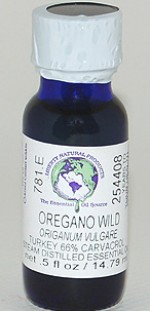Oregano, Wild (66% Carvacrol) - .5 oz. - Product Image