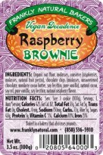 Raspberry Brownie - Product Image