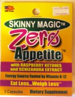 Zero Appetite - Trial Packet  - Product Image
