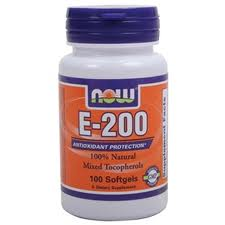 NOW Vitamin E 200 - 100 Softgels - Product Image