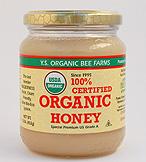 YS Organic Bee Farms 100% Certified Organic Honey - 16 oz. - #127 - Product Image