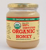 YS Organic Bee Farms 100% Certified Organic Honey - 16 oz. - #127 - Product Image