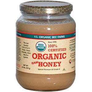YS Organic Bee Farms 100% Certified Organic Honey - 32 oz. - #128 - Product Image