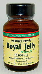 YS Organic Bee Farms 15,000 mg. Fresh Royal Jelly in Honey - 2.0 oz. - #230 - Product Image