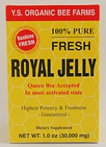 YS Organic Bee Farms 30,000 mg. Fresh Royal Jelly - 1 oz. - #1C - Product Image