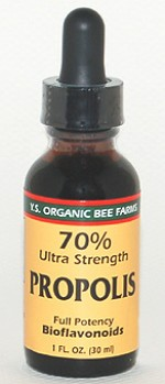 YS Organic Bee Farms 70% Ultra Strength Propolis Extract - 1 oz. - #9L1 - Product Image