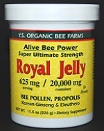 YS Organic Bee Farms Alive Bee Power 20,000 mg. Fresh Royal Jelly - 11.5 oz. - #430 - Product Image