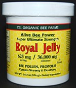 YS Organic Bee Farms Alive Bee Power 36,000 mg. Fresh Royal Jelly - 20.3 oz. - #420 - Product Image