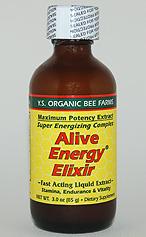 YS Organic Bee Farms Alive Energy Elixir 22,800 mg. Fresh Royal Jelly - 3 oz. - #2F - Product Image