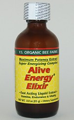 YS Organic Bee Farms Alive Energy Elixir 22,800 mg. Fresh Royal Jelly - 3 oz. - #2F - Product Image