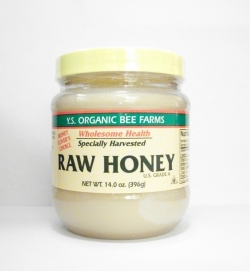 YS Organic Bee Farms Health Honey (Raw) - 14.0 oz. - #12A - Product Image
