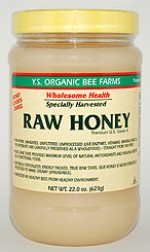 YS Organic Bee Farms Health Honey (Raw) - 22.0 oz. - #12B - Product Image
