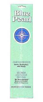 Blue Pearl Cedarwood Incense - .7 oz. - Product Image