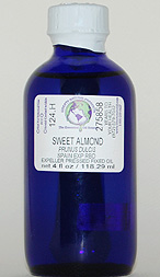 Almond Oil (Sweet) - 4 oz. (glass) - Product Image