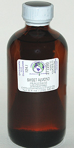 Almond Oil (Sweet) - 8 oz. (glass) - Product Image